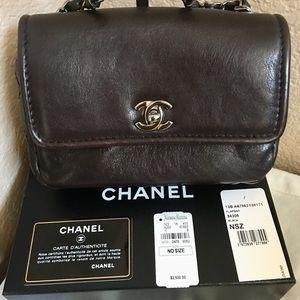 ❤️Chanel leather crossbody bag
